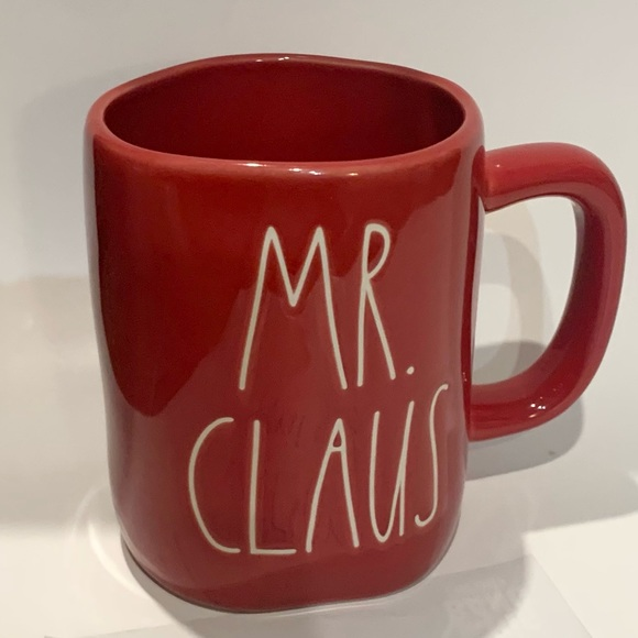 Rae Dunn Mr. Claus Christmas Mug
